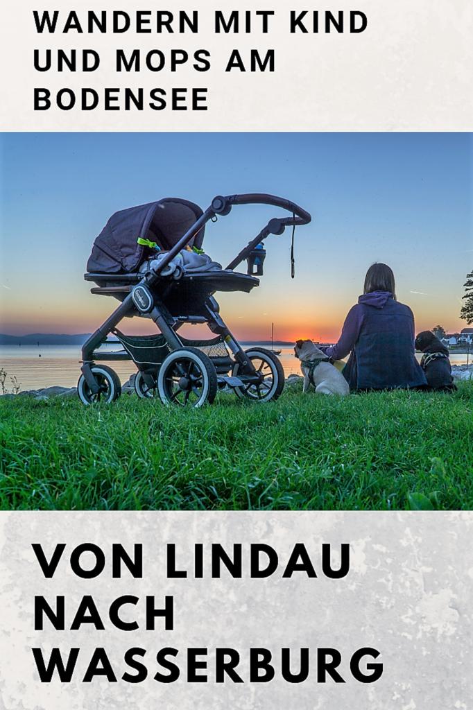 Kinderwagen Lindau nach Wasserburg