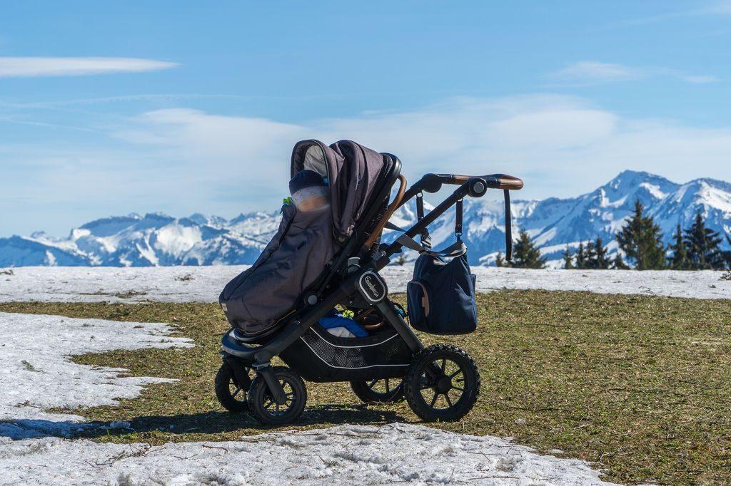 Kinderwagen-Wanderung am Pfänder Vorarlberg