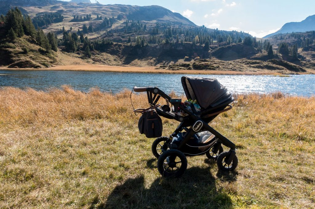 Kinderwagen-Wanderung zum Körbersee