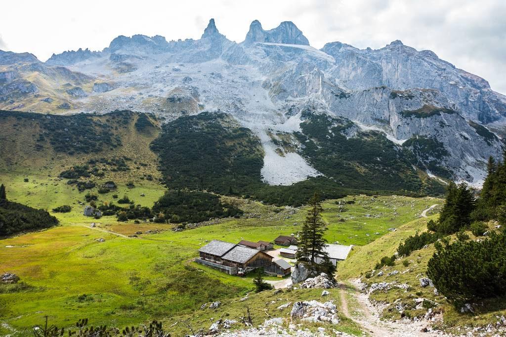 Wanderung zur Lindauer Hütte
