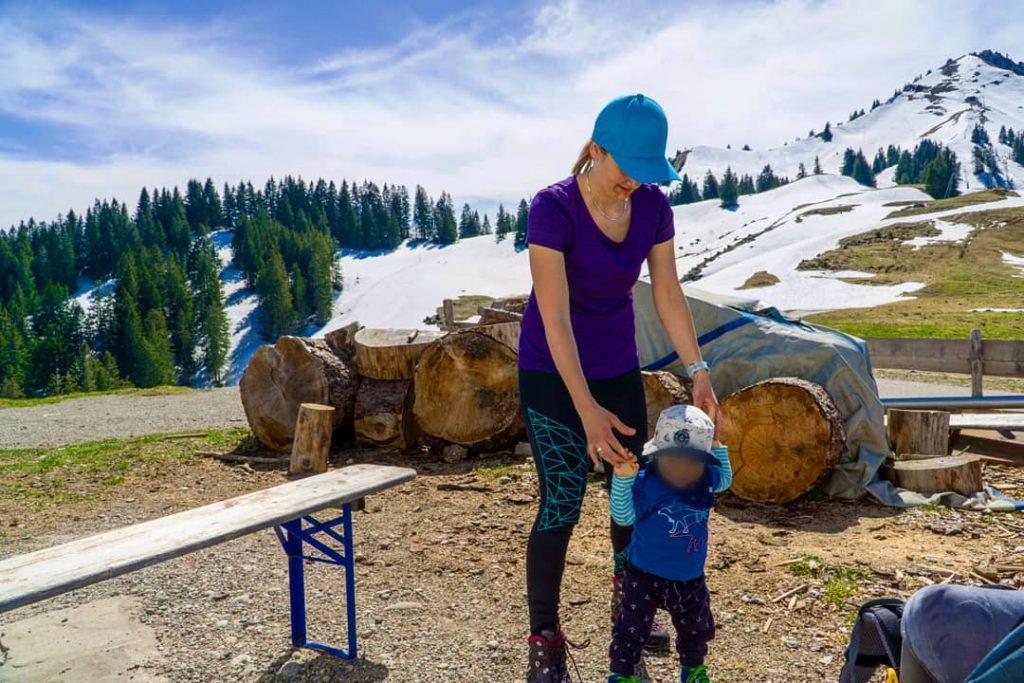 Wandern mit Kind am Grünten