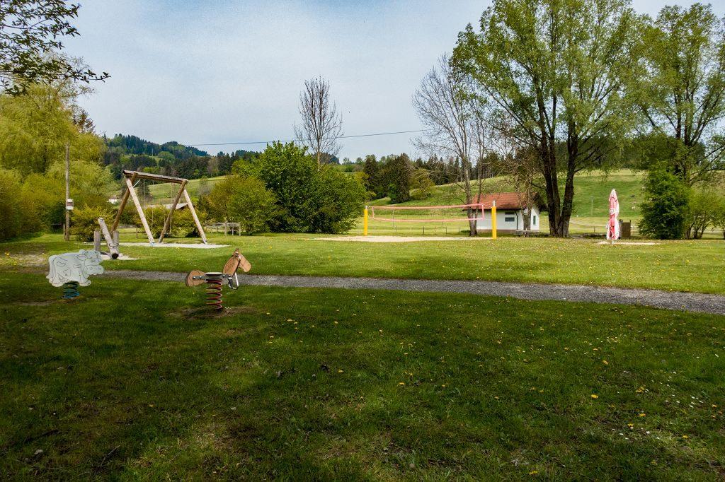 Kinderwagen- Wanderung um den Niedersonthofener See