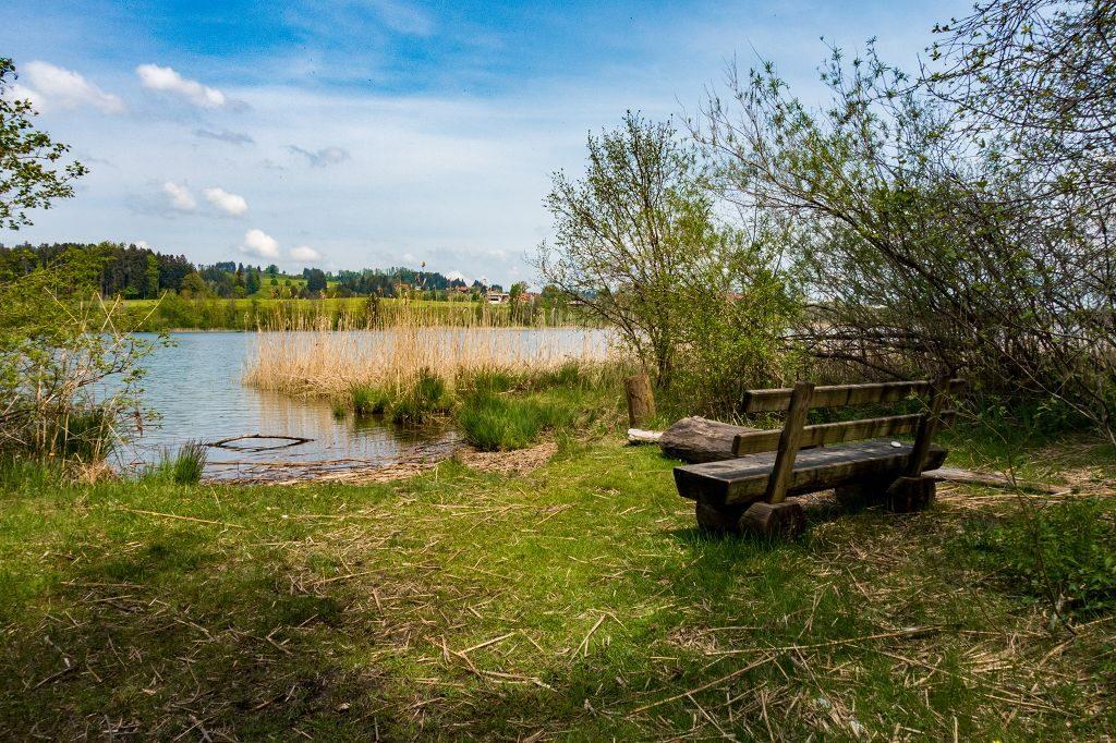 Wanderung um den Niedersonthofener See