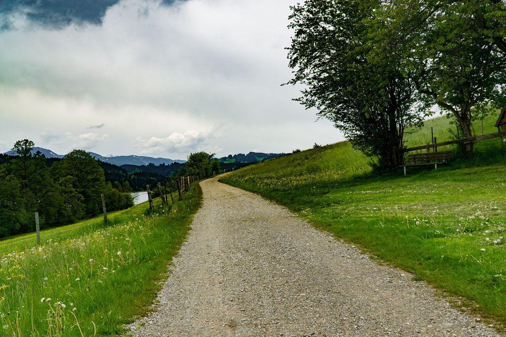 Kinderwagen- Wanderung um den Niedersonthofener See Allgäu