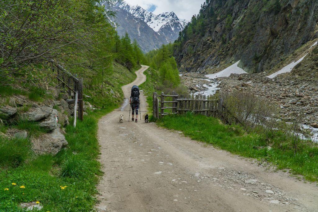 Wandern mit Kind in Südtirol