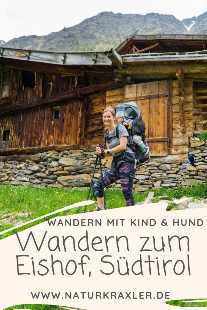 Wandern mit Kleinkind in Südtirol