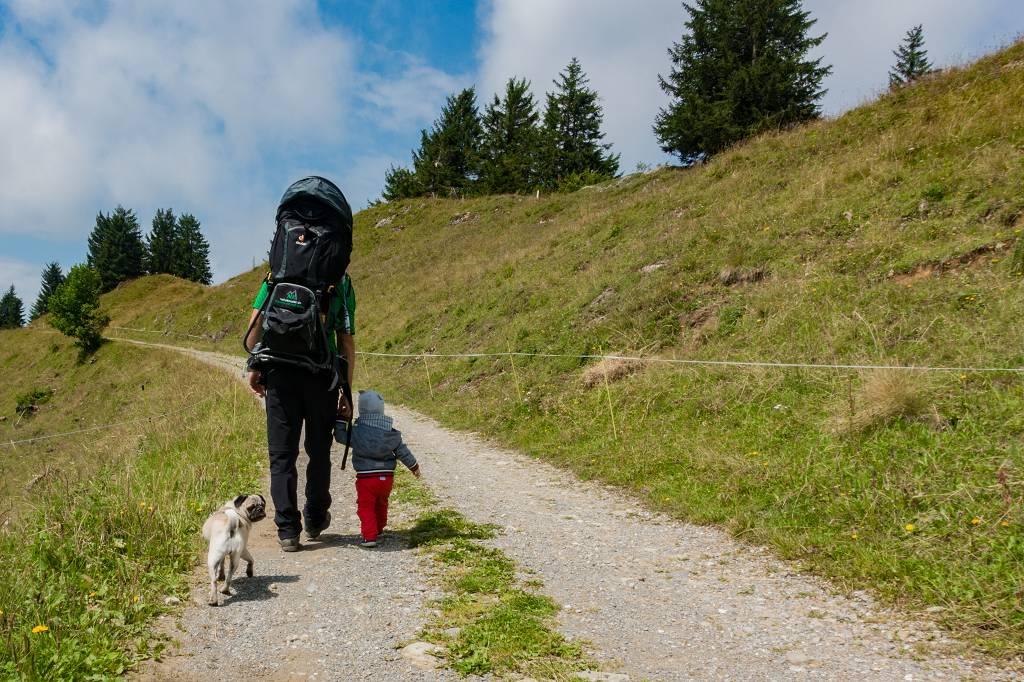 Wandern mit Kind