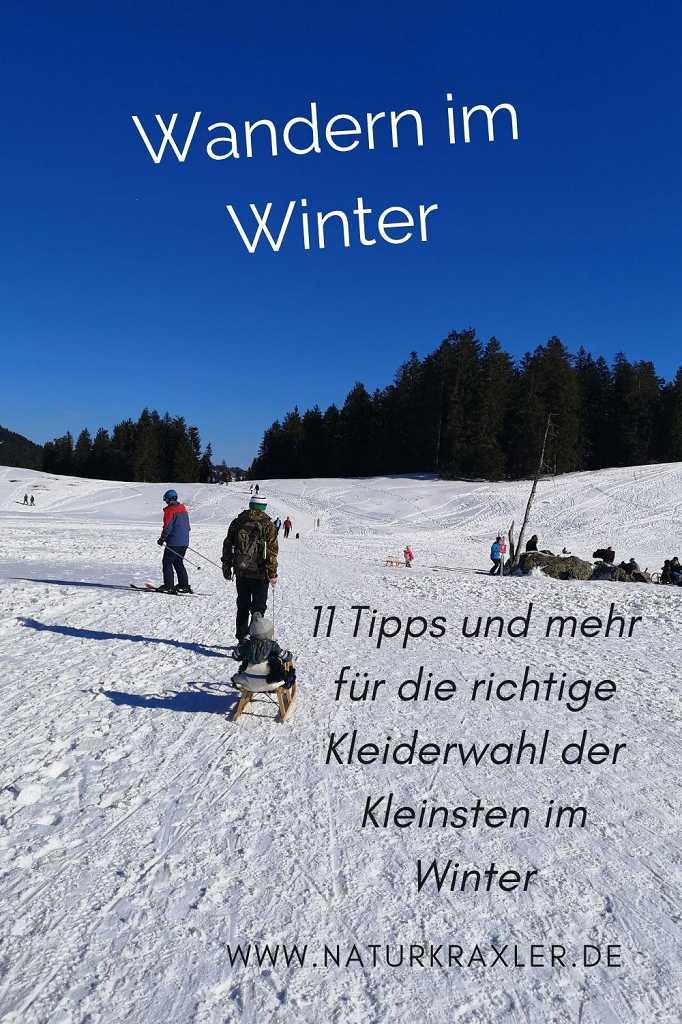 Winterwandern mit kleinen Kindern